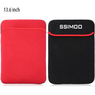 SSIMOO Double-faced Foam Fabric Laptop Bag 13.6 inch