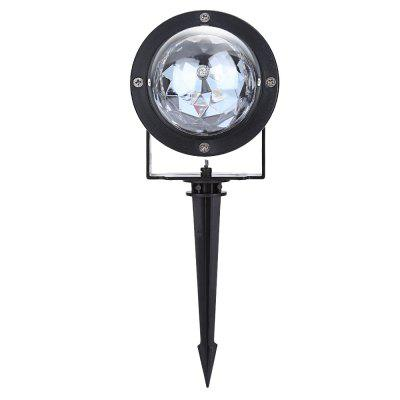 Outdoor 3W RGB LED Lawn Light