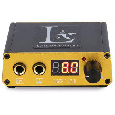Portable Mini Digital Tattoo Power Supply for Foot Pedal Switch