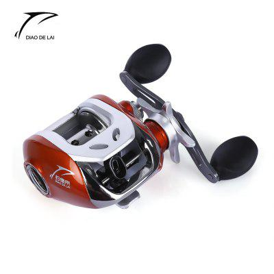 DIAO DE LAI 6.3:1 6 + 1 Ball Bearings Bait Casting Fishing Reel