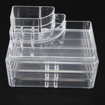 Acrylic Make-up Organizer Drawer Storage Box