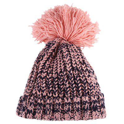 Pom Pom Embellished Child Knitted Hat -  4.85 Free Shipping 7ca1a482cb22