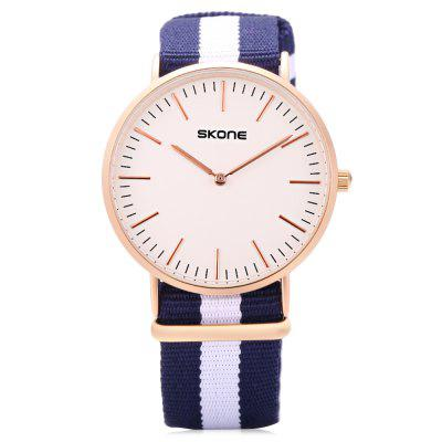 SKONE 6165G Men Quartz Watch slazenger футболка