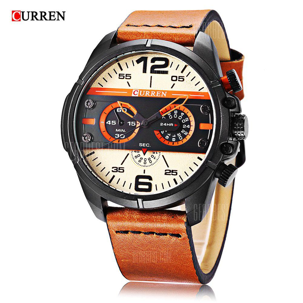 Curren 8259 Montre Homme Quartz