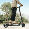 GBtiger A3 Electric Scooter Two-wheel Folding Board with Lamp - SIYAH