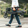 GBtiger A2 Electric Scooter Two-wheel Folding Board with Seat - BLACK