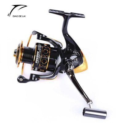 DIAO DE LAI 12 + 1 Ball Bearings Spool Spinning Fishing Reel