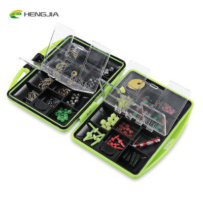HENGJIA Fish Bait Tackle Storage Box with Accessories