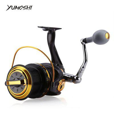 YUMOSHI 12 + 1 Ball Bearings Spinning Fishing Reel