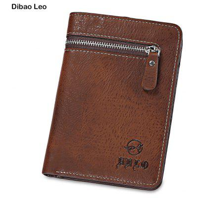 Dibao Leo Zipper Decoration Multi Card Bits Wallets