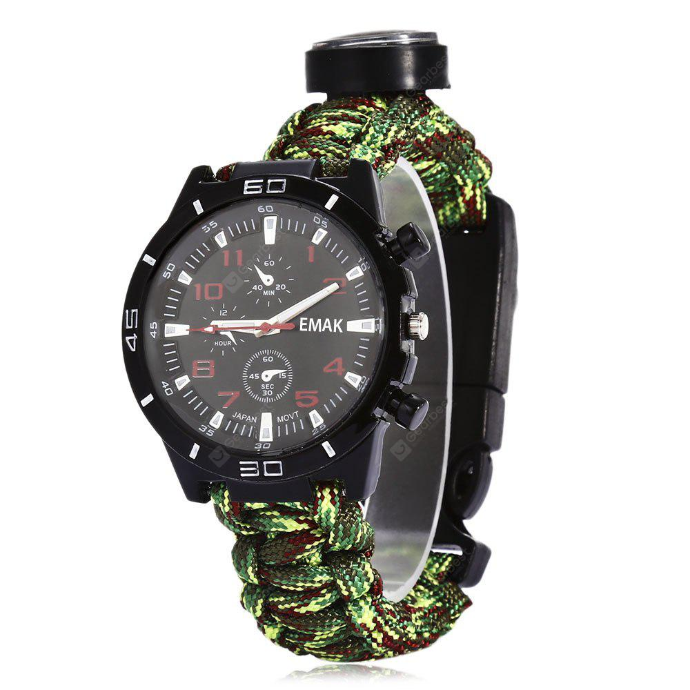 EMAK Outdoor Survival Uhrenarmband