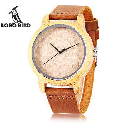 BOBO BIRD A19 Unisex Quartz Watch