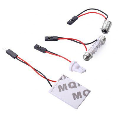 24 SMD LED Panel Car Wedge COB Bulb