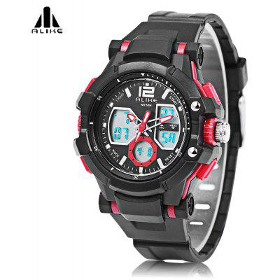 ALIKE AK16123 Male Dual Movt LED Sport Watch