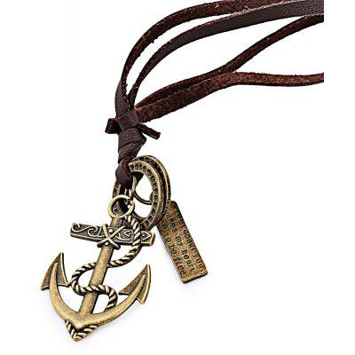 Boat Anchor Unisex Necklace
