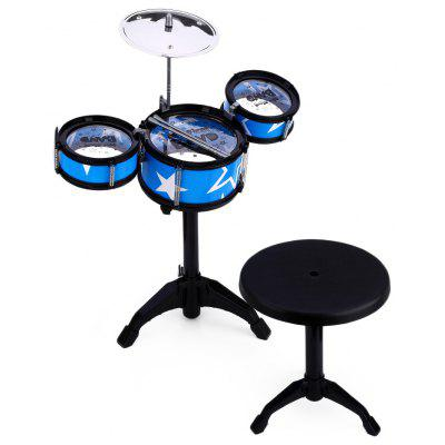 Wanyi Kinder Jazz Drums Kit Musikinstrument Spielzeug