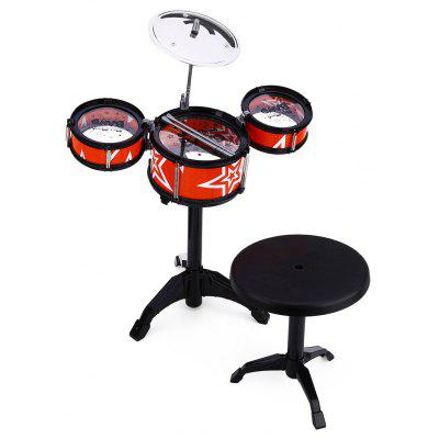 Wanyi Kids Jazz Drums Kit Musical Instrument Toy