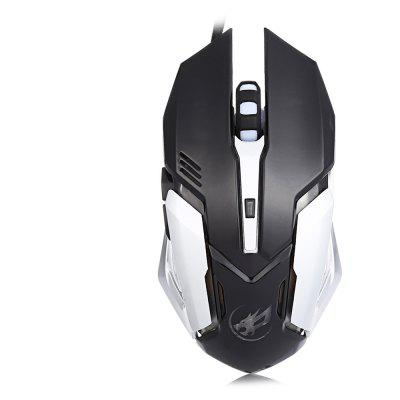 Buy Warwolf T1 Optical Wired Macro Definition Gaming Mouse BLACK Computers & Networking > Computer Peripherals > Mouse for $6.59 in GearBest store