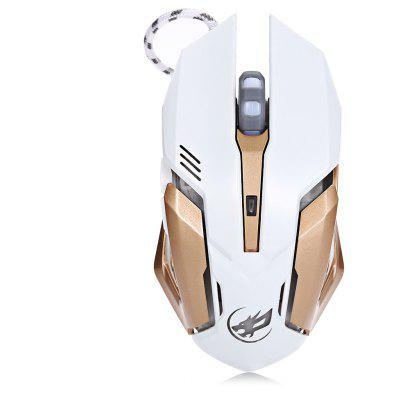 Warwolf T1 Optical Wired Macro Definition Gaming Mouse