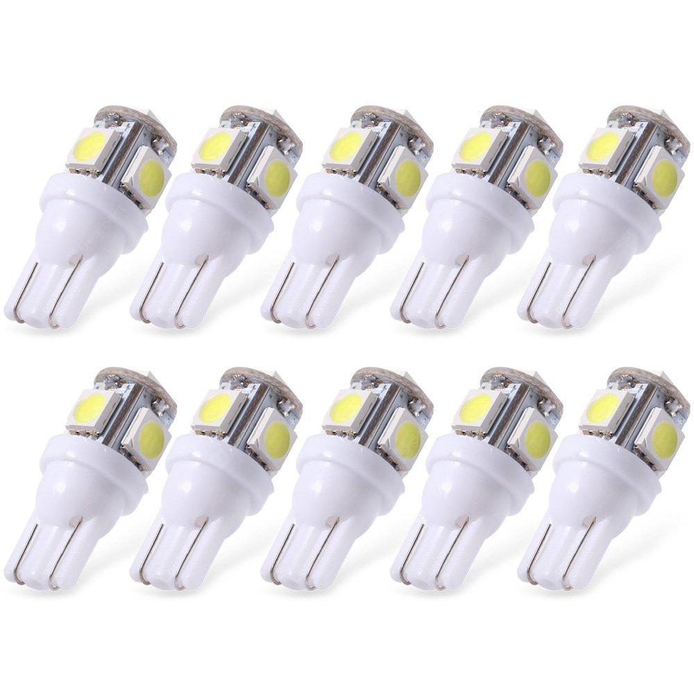 10pcs T10 5050 Wedge LED 5 SMD Light