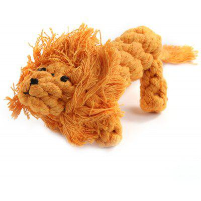 Imitated Weave Lion Pet Toy