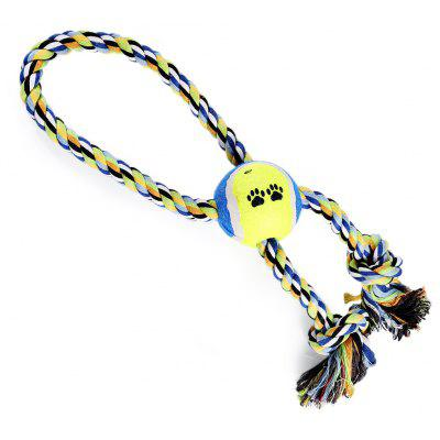 Pet Rope Toy Training Gadget Durable Chew Cotton Knot
