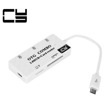 CY GT - 133 3-port HUB USB 2.0 with Card Reader Adapter