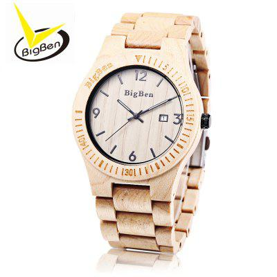 BigBen B01 Men Quartz Wooden Watch