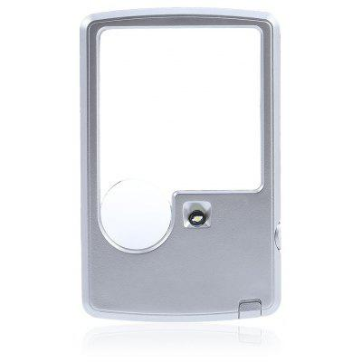 Portable 3X / 6X Credit Card Magnifying Glass