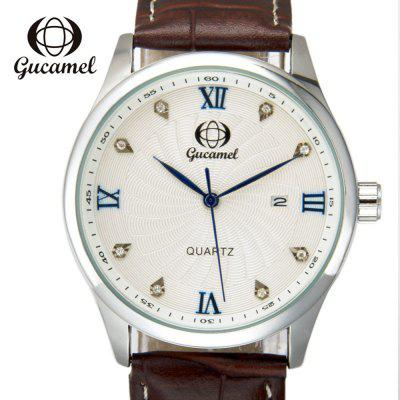 Gucamel B003 Men Quartz Calendar Watch