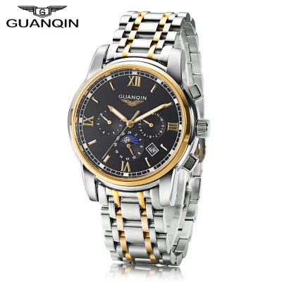 GUANQIN GJ16040 Male Auto Mechanical Watch