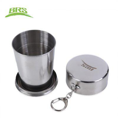 BRS 60ML 140ML 250ML Folding Aluminum Alloy Cup