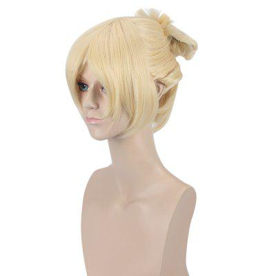Piaoliujia Medium Light Golden WigCosplay Wigs<br>Piaoliujia Medium Light Golden Wig<br><br>Bang Type: Side<br>Length: Medium<br>Length Size(CM): 30<br>Length Size(Inch): 11.81<br>Material: Synthetic Hair<br>Package Contents: 1 x Wig, 1 x Piece of Hair<br>Package size (L x W x H): 28.00 x 17.00 x 5.00 cm / 11.02 x 6.69 x 1.97 inches<br>Package weight: 0.323 kg<br>Product weight: 0.251 kg<br>Style: Straight<br>Type: Full Wigs