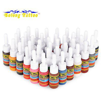 Solong Tattoo 5ml 40 Colors / Set Long Lasting Pigments Inks