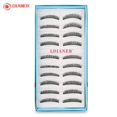 LDIANER Handmade Supernatural Cross Section Eyelashes