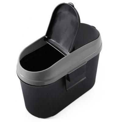 Car Trash Bin Recycle Garbage Can Auto Accessory
