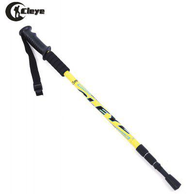 CLEYE Trekking 3 Joint Straight Shank Anti-shock Alpenstock