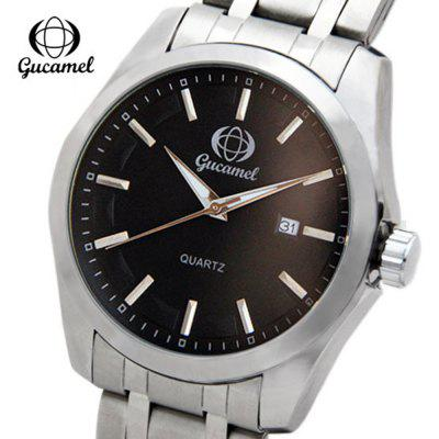 Gucamel B006 Men Quartz Calendar Watch