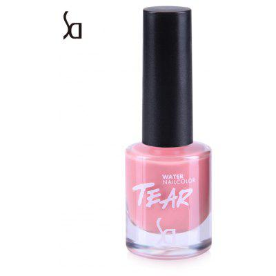 SD Environmentally Non-toxic Peelable Water Based Nail Polish 10 Candy Colors Scent Beauty Art