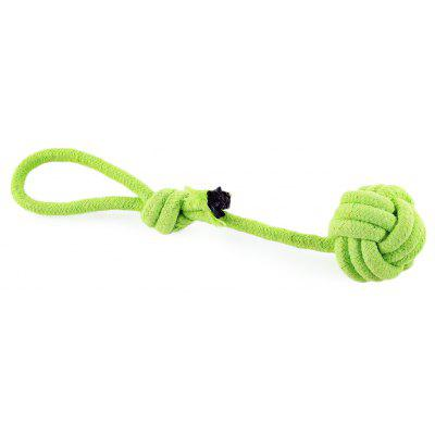 Weave Candy Color Rope Pet Toy