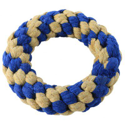 Pet Rope Toy Durable Chew Doughnut Cotton Knot for Dog