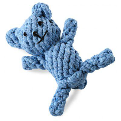 Pet Rope Toy Durable Chew Bear Cotton Knot for Dog