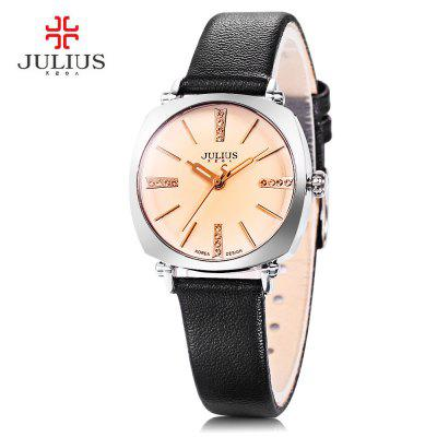 Julius JA - 388L Female Square Case Quartz Watch
