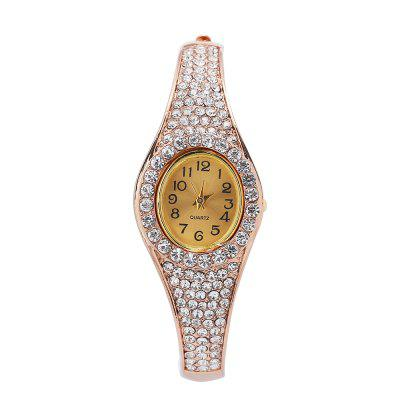 Shiny Women Quartz Artificial Diamond Watch