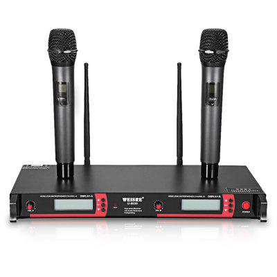 WEISRE U - 8030 UHF Wireless Microphone Set