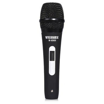 WEISRE M - 6900 Wired Unidirectional Dynamic Microphone