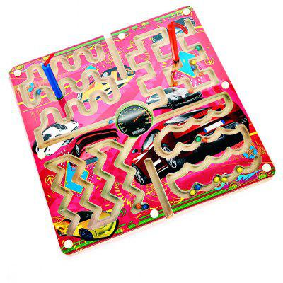 Magnetic Pen Labyrinth Puzzle Toy