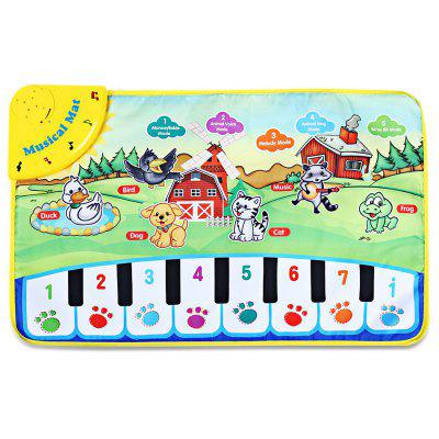 Zhongze Toys Animal Singing Piano Carpet