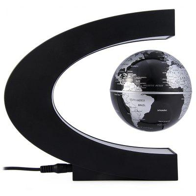 Novelty C Shape Magnetic Levitation Floating Globe Toy