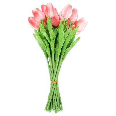 20pcs Artificial PU Tulip Flower Bouquet Party Decoration